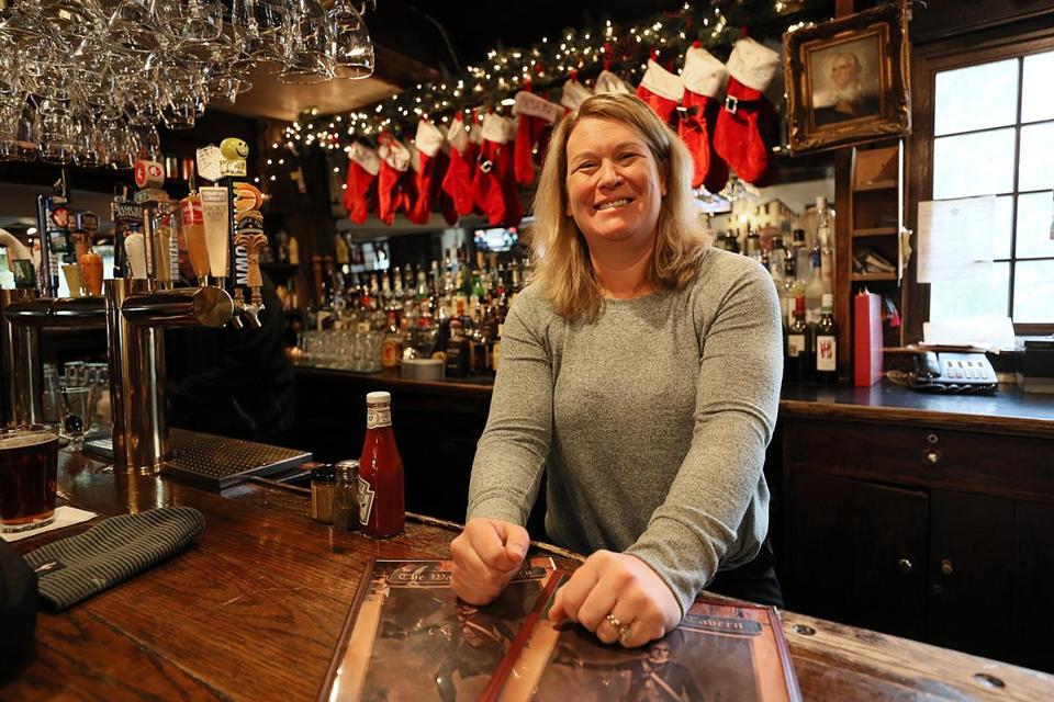 Kim Mahoney is the manager of the Warren Tavern in Charlestown.